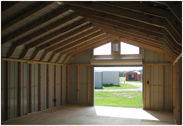 BP Building Sales LLC - Barn w/Rollup Door